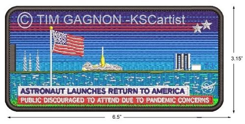 DM-2 Mission Patch by Tim Gagnon