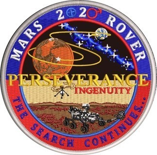 Tim Gagnon Mars 2020 Rover round patch